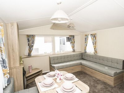 Photo for Diamond rated caravan for hire at Southview Holiday park Skegness ref 33010TB