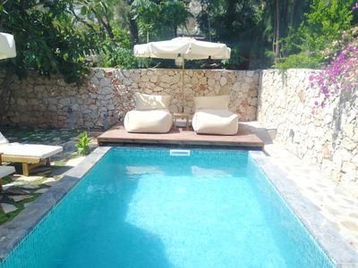 Photo for Discover Paradise in Kalkan: 2 br villa with one of the best gardens in town