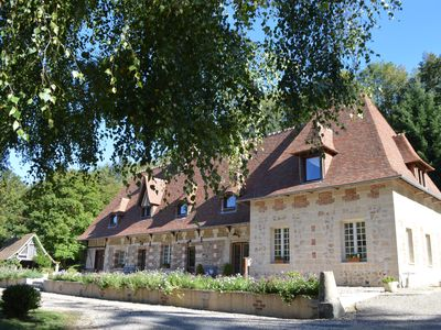 Photo for Guest room (suite) in an exceptional setting in Normandy near Honfleur