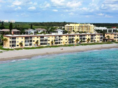 Aerial image of Fisherman's Cove Condo at Turtle Beach on Siesta Key