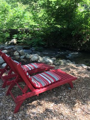 Photo for *New* Rushing stream/waterfall,  private home- close to Lake Lure, AVL from $125