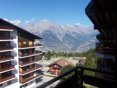 Photo for A Great Flat Just By The Ski Slopes In Haute Nendaz Switzerland