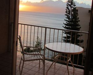 Expect amazing sunsets from your lanai.