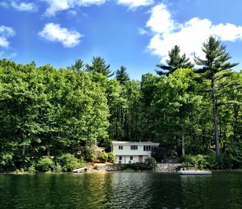 Photo for Windham Waterfront, Charming Cottage on Private Road, Near to Boston & Beaches