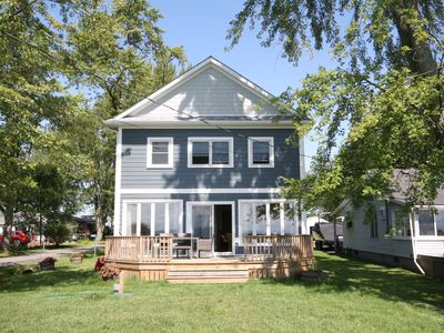 Photo for Tranquil Lakefront Cottage On Beautiful Sunset Bay In Wainfleet, Ontario