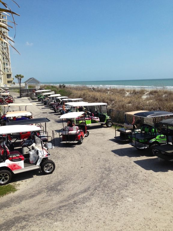 Beach House W Apt 2 Kitchens Golf Cart Linens Loaded With Amenities Garden City Myrtle