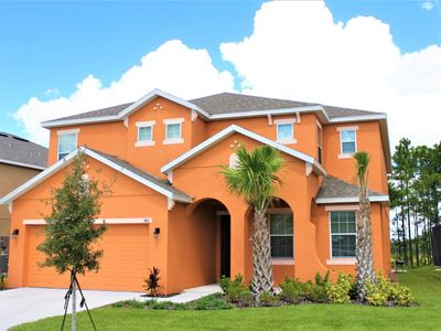 Photo for 6 bedrooms - Private Pool & Spa - Gym - Near golf courses & Disney