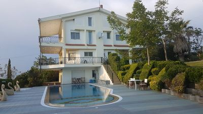Photo for Huge and Luxurius Suburban Villa. 12 kms from the airport.Panoramic View