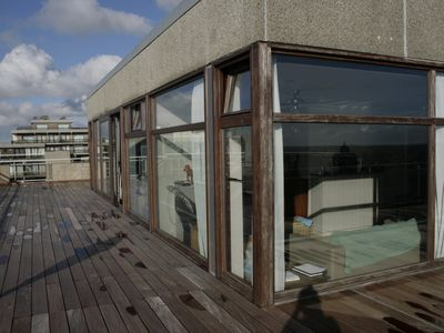 Photo for PENTHOUSE APPARTMENT WITH FRONTAL SEAVIEW FROM ALL ROOMS