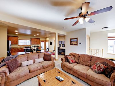 Photo for Big 4BR Home w/ Private Hot Tub & 4 Flat Screen TVs –  Minutes to Park City