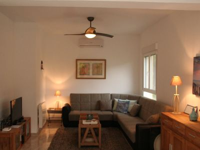 Photo for Renovated Luxury apartment five min walk from the beach of LO PAGAN