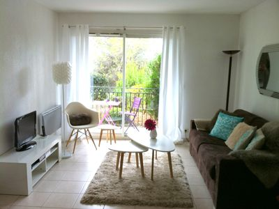 Photo for 15 mins. Cannes / Antibes with pools and tennis - Very nice apartment. quiet