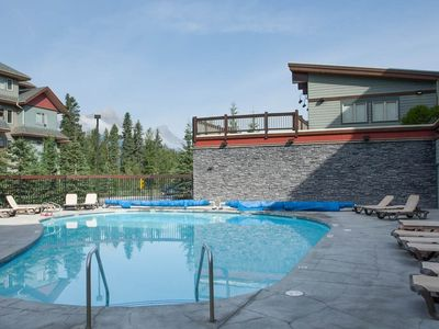 Photo for Mountain Vacation Condo | Fireplace + Outdoor Hot Tub + Heated Pool