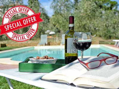 Photo for Ai Cipressi,BOOK NOW YOUR HOLIDAY FOR 2020! Ideal for children, fenced pool