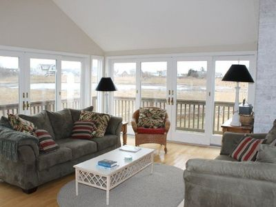 Photo for Marsh Front Beautiful Updated Home Walk To Beach And Town