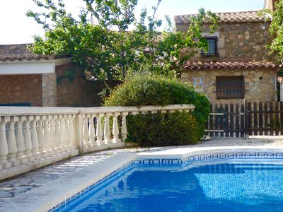 Photo for Stone mass in Mas Barceló with pool and large garden
