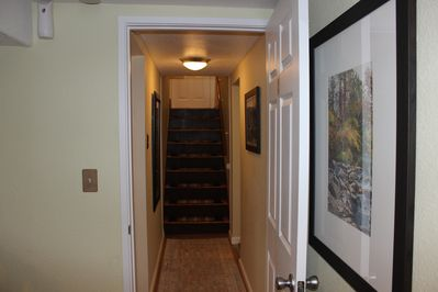 Private Entry Stairs