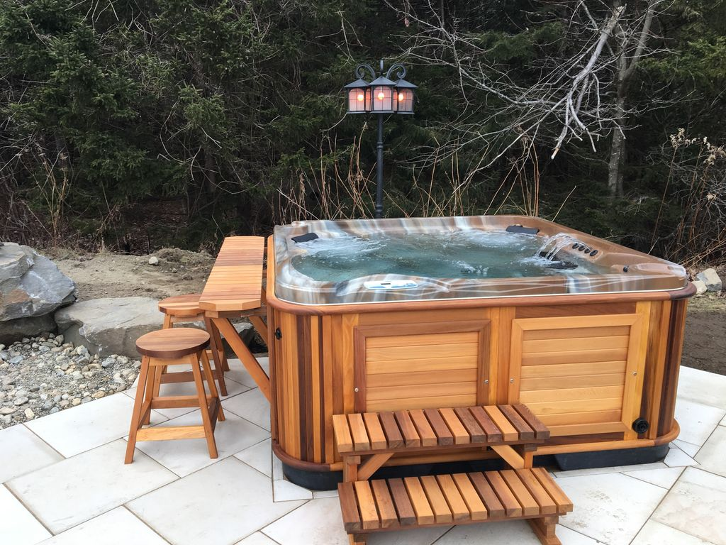 Gorgeous lodge breathtaking mountain views hot tub with for Florida hot tubs