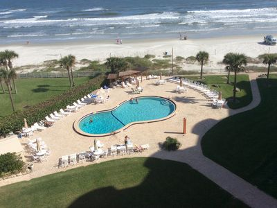Photo for Lovely Oceanfront Condo w/ 40% off monthly rates from May thru December!