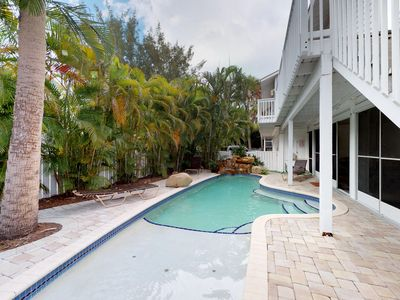 Photo for Dog- and family-friendly duplex w/ shared pool, near beach and free trolley!