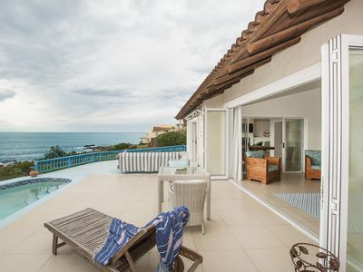 Photo for Cozy waterfront home w/  furnished patio, & incredible views
