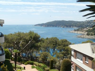Photo for 4 bedroom Apartment, sleeps 8 with Pool, WiFi and Walk to Beach & Shops