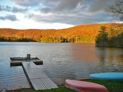 Photo for Welcome to the lake: Your Leaf Peepers Paradise Awaits!