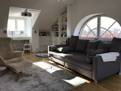 Photo for Wonderful and spacious attic with terrace (116sqm)