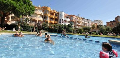 Photo for Nice apartment in Empuriabrava of 4 Pers 1 bedroom with pool and A / C