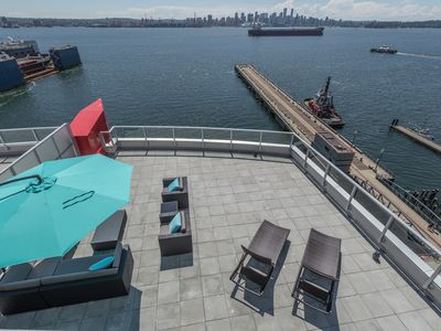Photo for Penthouse Waterfront North Vancouver 3 Bedroom with Views, 4000 sq ft Patio