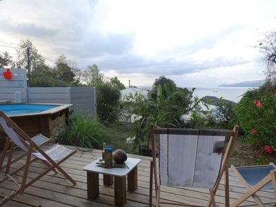 Photo for CocosunLodge * superb sea view and private pool *