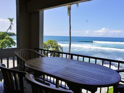 Photo for Ocean Front | Watch Dolphins from the Lanai | WIFI | Starting at $193/Nt