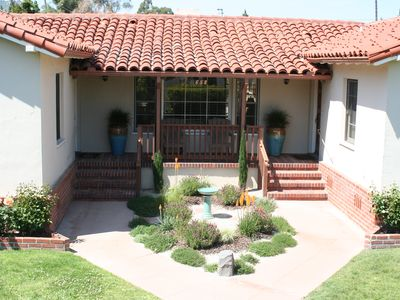 Photo for Historic Spanish Style Monthly Rental in the Heart of Downtown San Luis Obispo