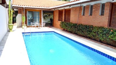 Photo for House w / pool, chur, cove beach at 160mts, prime area, WIFI