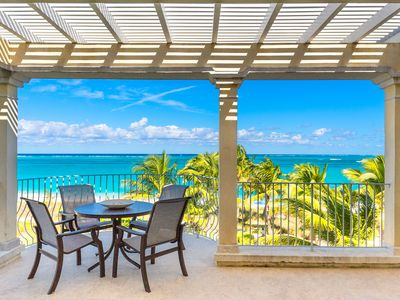 Photo for Villa Renaissance  Beach Front Luxury Penthouse in the Heart of Grace Bay