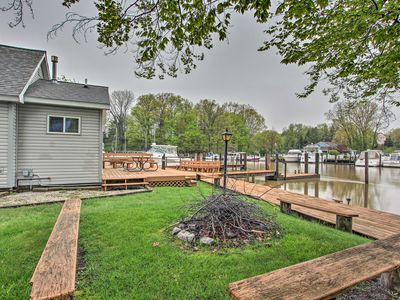Riverfront Home on Black River w/Porch & Boat Dock