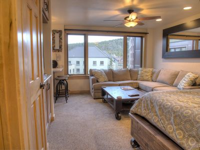 Photo for Luxury Ski In/Out Studio Steps From Downtown Shops & Restaurants
