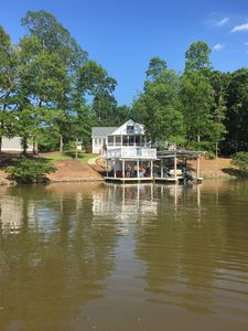 Photo for Beautiful waterfront home for family, boating, relaxing, and fishing