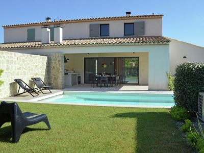 Photo for Modern Villa in Malaucène France With Private Swimming Pool