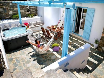 Photo for Villa Ammos in Paros is located in a picturesq... - Three Bedroom Villa, Sleeps 9