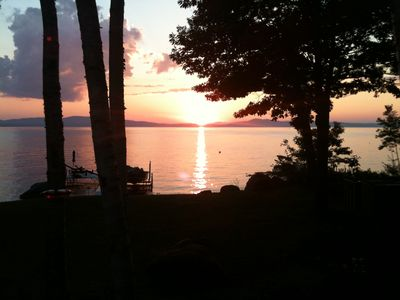 Photo for Sebago Lake Waterfront Rental