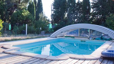 Photo for Solar-heated pool. Peaceful, close to nature/attractions. Also a Wellness Centre