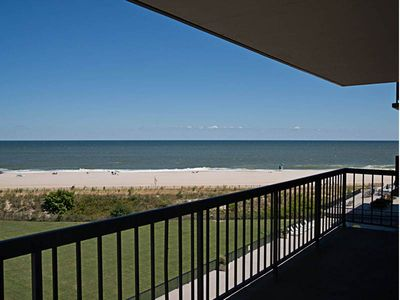 Photo for C510: 3BR End Sea Colony Oceanfront Condo! Private beach, pools, tennis ...