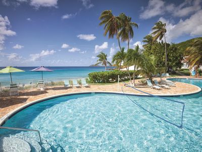 Photo for St. Thomas Studio Suite w/ Private Beach, Ocean Views, Resort Pool & WiFi