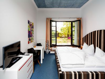 Photo for Classic double room with terrace - artHOTEL Magdeburg GmbH