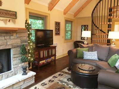 Photo for Fall and Winter Get-Away   Beautiful Beech Mountain NC Vacation Rental Home