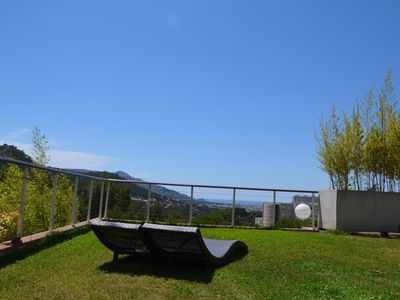 Photo for STUDIO WITH GARDEN AND PRETTY VIEW  IN RESIDENTIAL AREA CLOSE TO THE CALANQUES