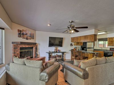 Photo for Gated Pinetop Home w/Pool, Spa & Volleyball Court