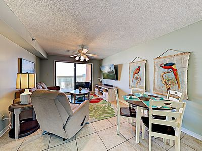 Living Room - Welcome to Orange Beach! This condo is professionally managed by TurnKey Vacation Rentals.