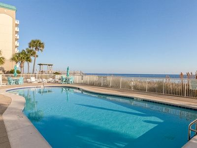 Photo for Beachfront condo w/ shared pools, hot tub, tennis, & fitness room